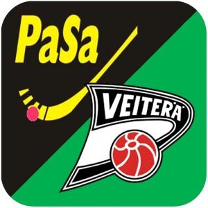 Pasa-Veiterä P15 logo neliö pöyr kulmat