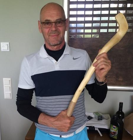 Golf-mestari Tapio Taskinen