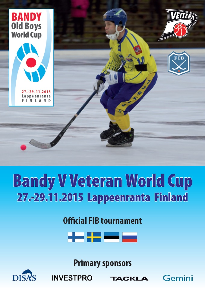 Bandy Veteran World Cup -juliste 680