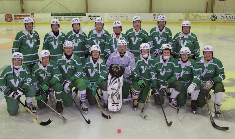 Veteraanit 2015-16 Joukkuekuva