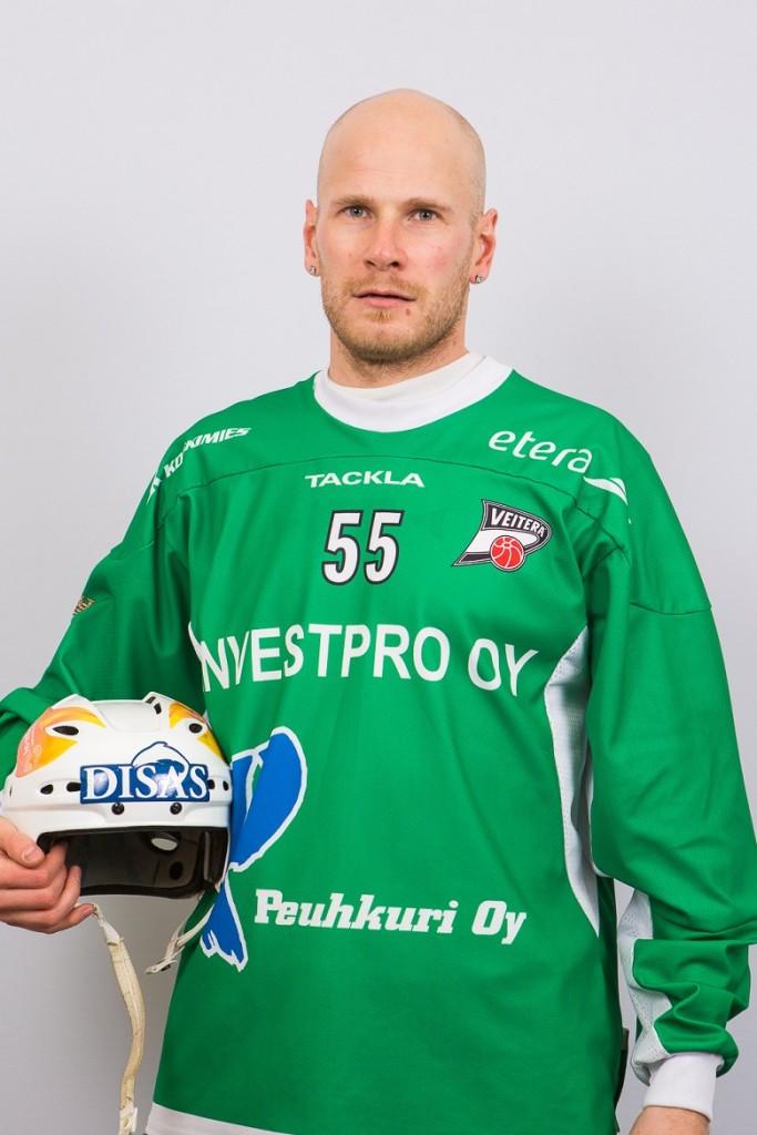 Kotijoukkueen hahmo lauantain HIFK-väännössä oli suurella Veiteräsydämmellä pelannut Janne Hauska.