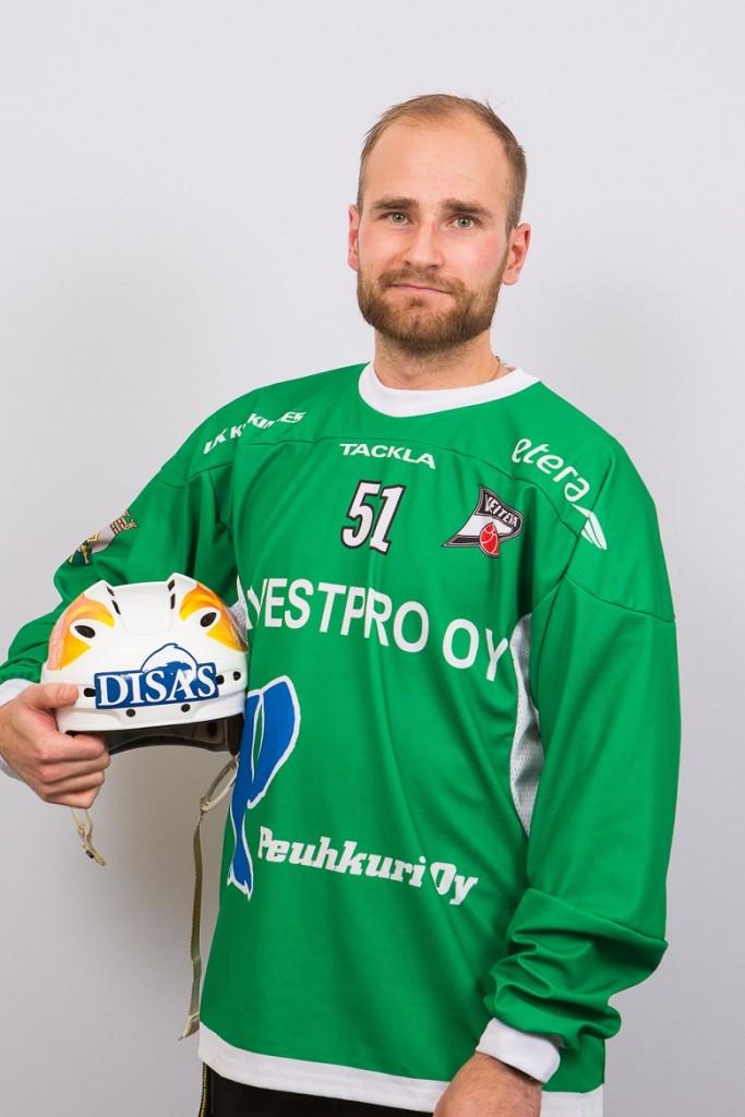 Tomi Hauska lisää A-maaotteluita tammi-helmikuussa Uljanovskin halli-MM -kisoissa.
