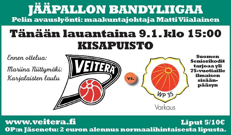 Ottelumainos - Veiterä - WP 35 9.1. - www
