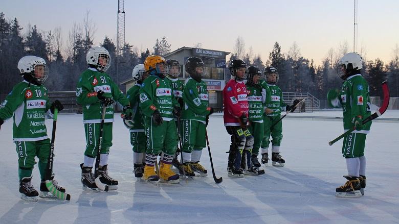 Veiterän P11-joukkue SM-osaturnauksessa Lappeenrannassa 10.1.2016