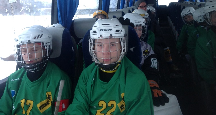 VT-kuva - bussissa