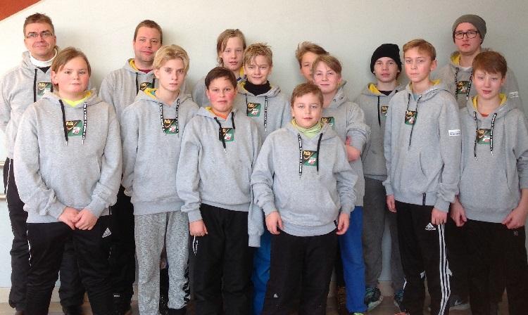 VT-kuva - joukkuehupparit